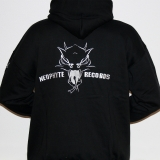 MIKINA NEOPHYTE RECORDS 09 HOODED BLACK