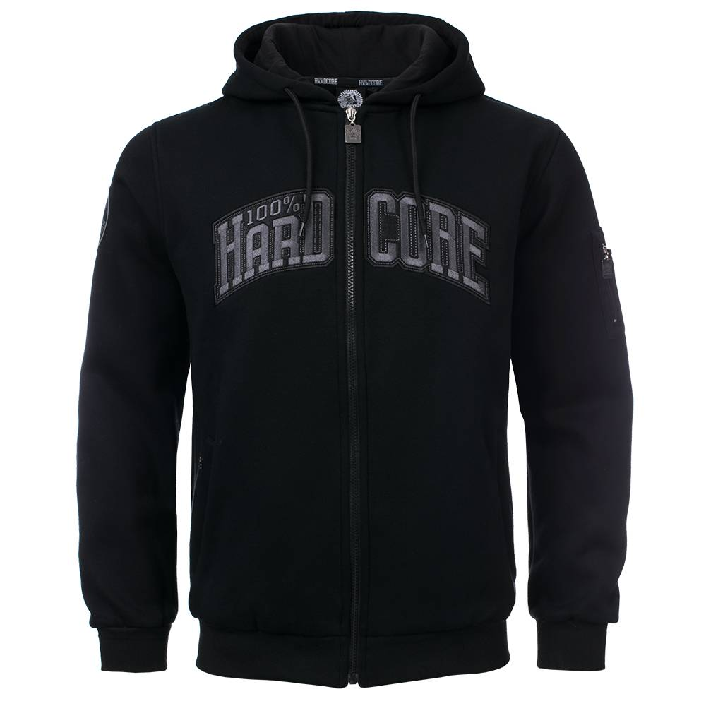 Mikina 100% HARDCORE HOODED THE BULL