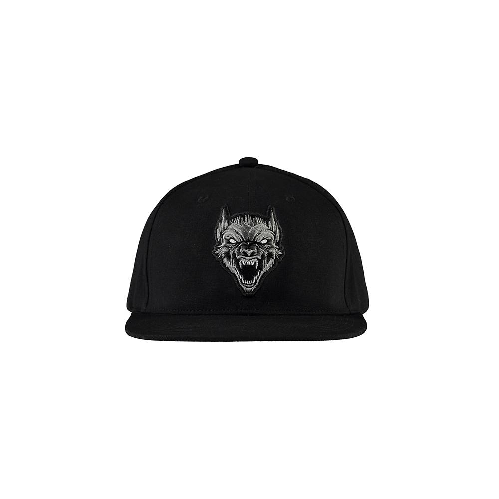 Kšiltovka 100% HARDCORE SNAPBACK THE WOLF