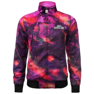 Bunda 100% HARDCORE TRAINING JACKET PINK SKULLS
